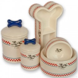 French Bistro Bowls & Treat Jars Collection